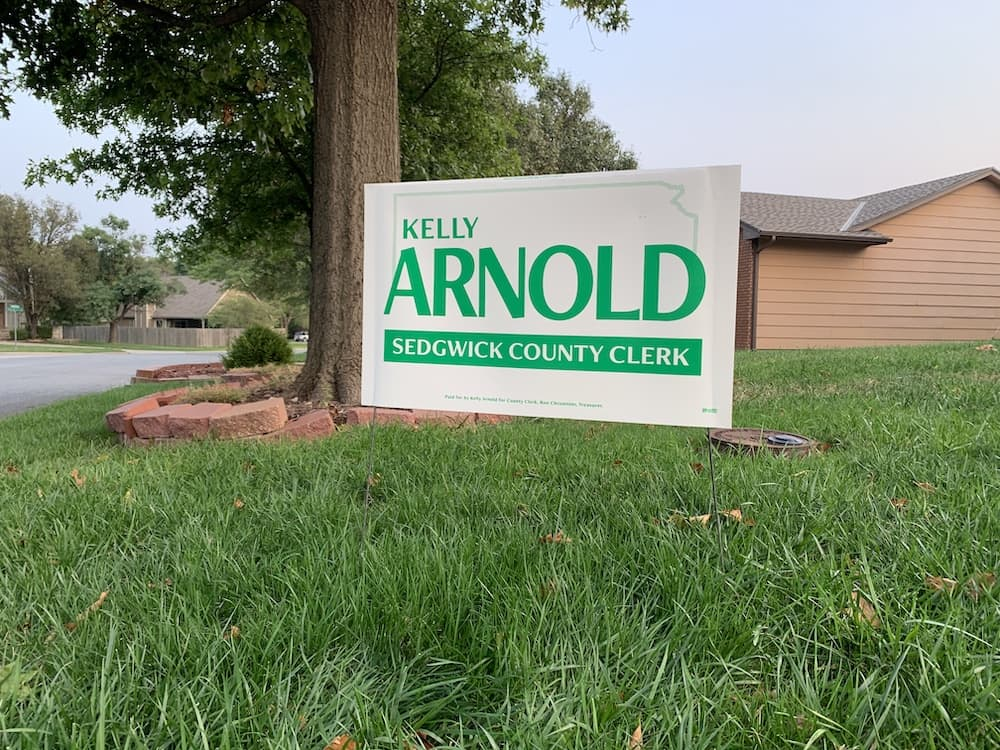 Kelly Arnold Yard Sign